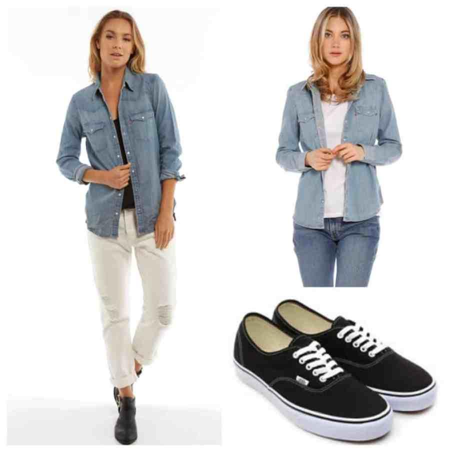 denim-shirt-jeans-levi-vans