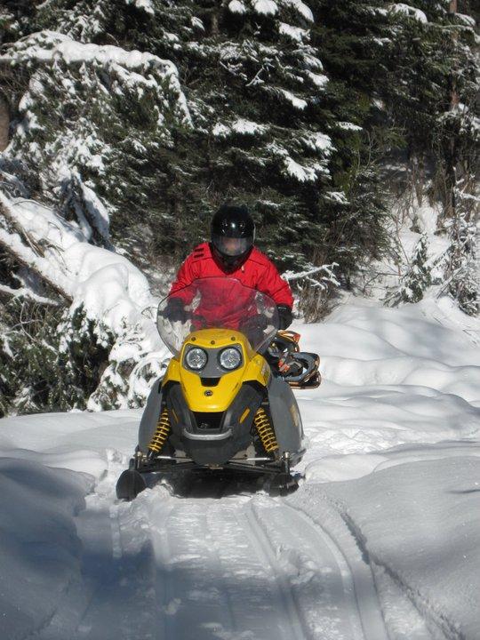 Davis snowmobiling