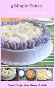 5 simple cakes ebook
