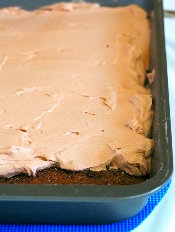 Whip up this easy Ovaltine cake and delight everyone with its pleasant chocolatey flavor and melt in your mouth, creamy whipped Ovaltine icing. This recipe is easy to execute when you need dessert in a hurry without the complicated preparations.