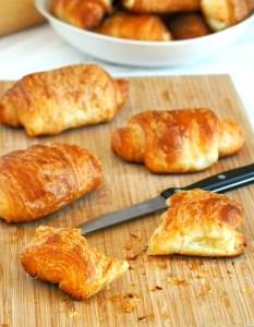 Cream Cheese Croissants