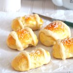 Coconut Buns with Sweet and Milky Coconut Filling
