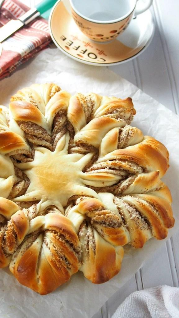 Almond Star Bread