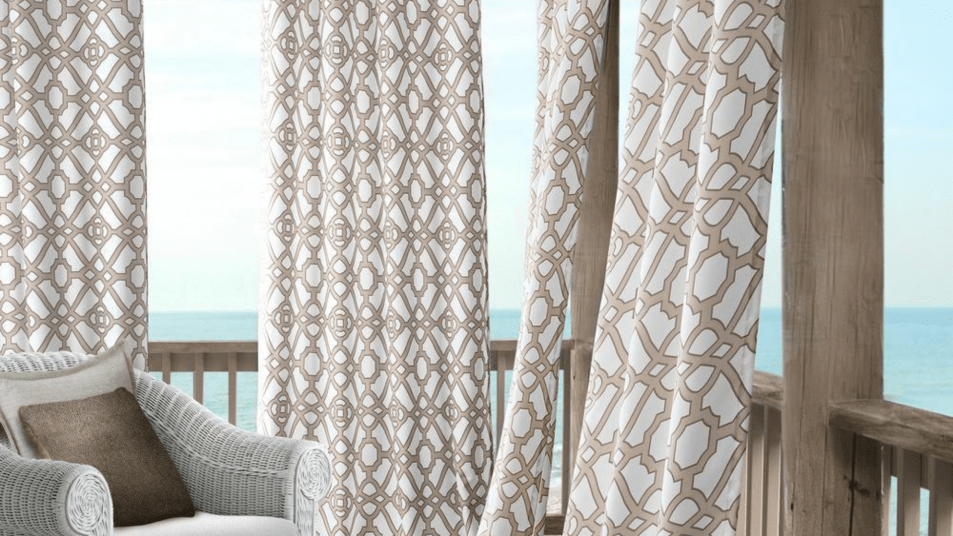 these outdoor curtains and shades will