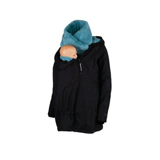 Wombat Wallaby Maternity and Babywearing jacket Blue