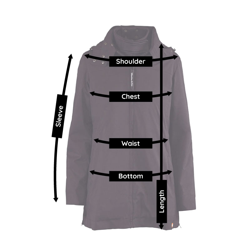 Numbat babywearing coat size guide