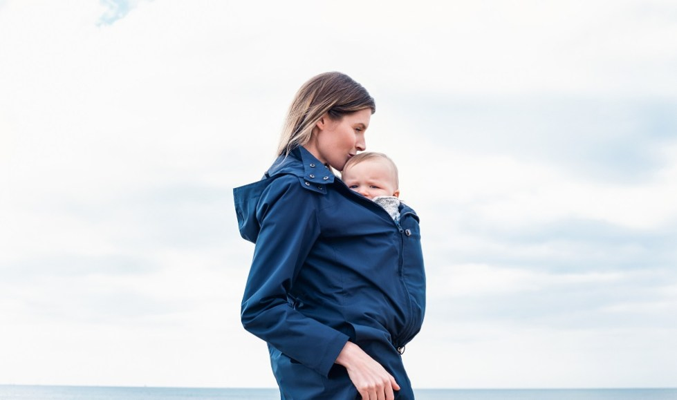 lightweight babywearing jacket