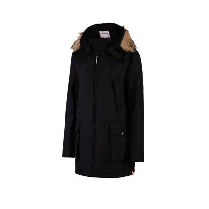 Bandicoot Mens Babywearing Jacket Black With Collar