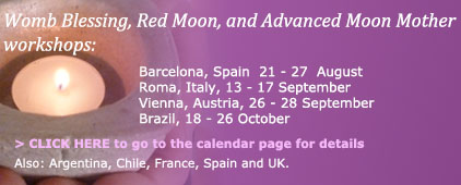 Worldwide Womb Blessing Workshops