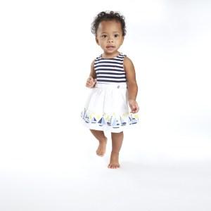 שמלה לבנות של נאוטיקה