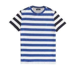 חולצת פסים כחול לבן נאוטיקה