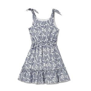 שמלת כתפיות לבנות של סולוג