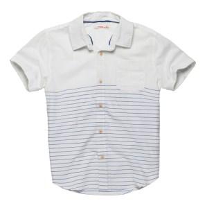 חולצה מכופתרת לבנה של פוקס