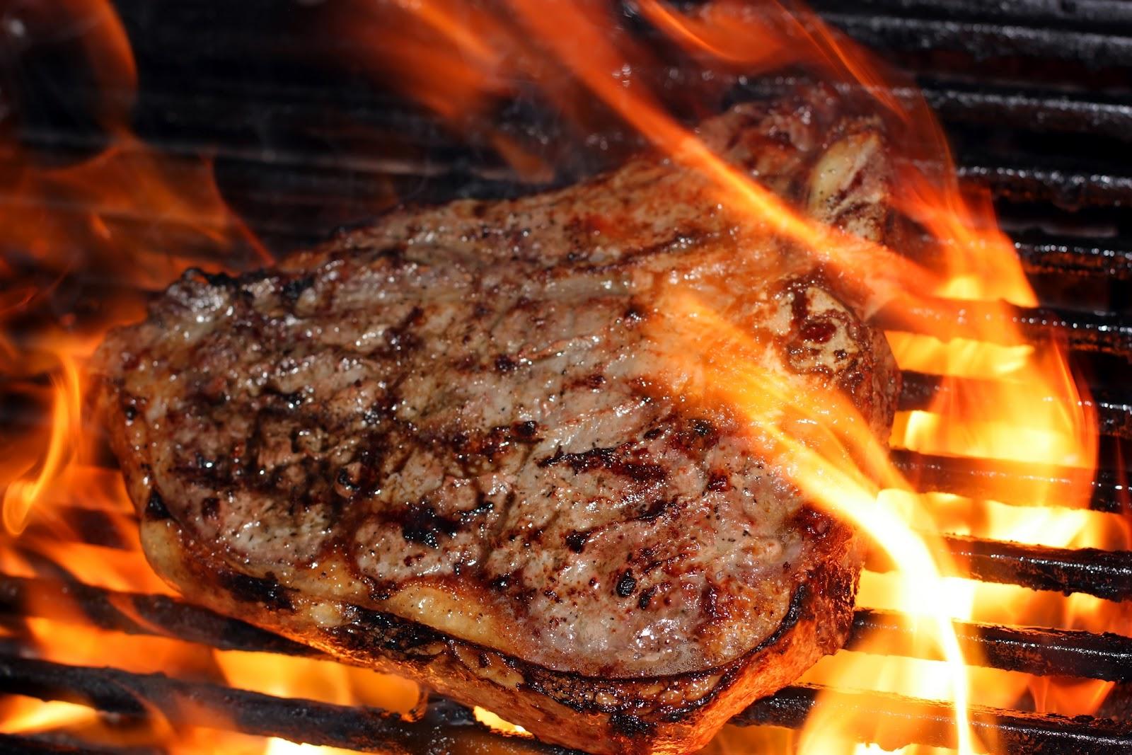 סכנות בבשר על האש