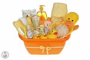 מתנה ליולדת של בייבי באבלס - מארז לאמבטיה מפנקת