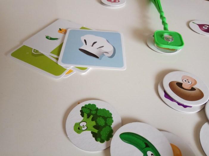 קלפים מיוחדים בסלט השף