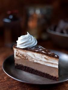 עוגת שוקולד וגבינה של דה ציזקייק פקטורי