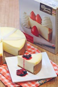עוגת גבינה קלאסית של ציזקייק פקטורי
