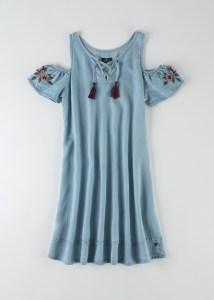 שמלת ג'ינס לבנות אמריקן איגל