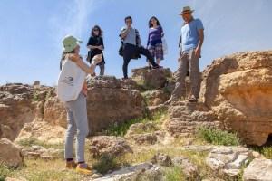 סיור להכרת צמחי המדבר @ ערד