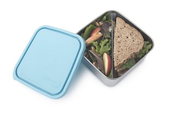 קופסת אוכל אקולוגית מנירוסטה