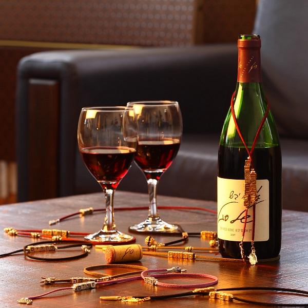 קישוט שנה טובה לבקבוק יין - סטודיו עדיים מכל הלב