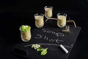 שוט מרק קרם חציל וטחינה