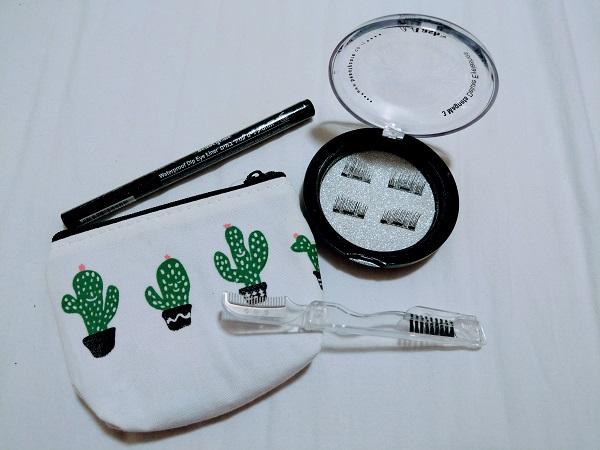 מוצרי ביוטיקייר - ריסים מגנטיים, עיפרון לריסים, איילנר טוש ונרתיק