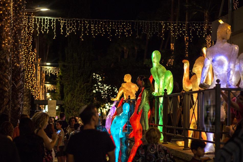 פסטיבל פרינגסטייל אור באשדוד - חנוכה 2018