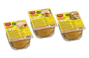 סדרת לחמים ללא גלוטן מוכנים לאכילה ללא צורך בהקפאה של שר