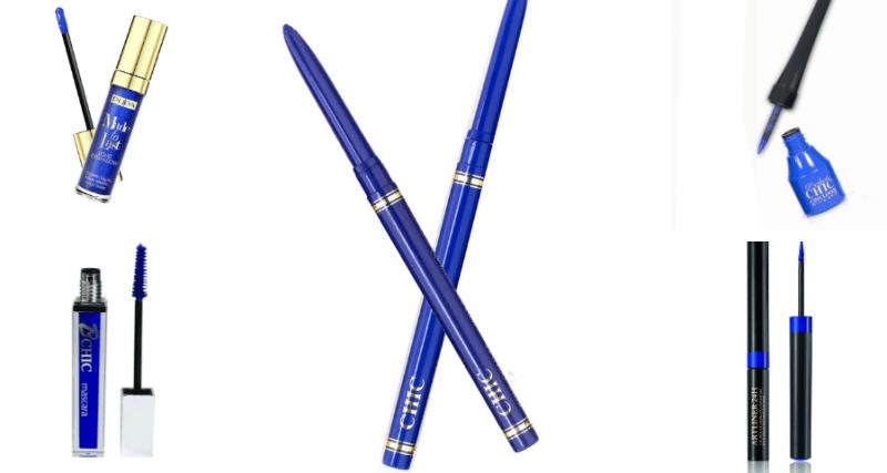 עפרונות עיניים לאיפור בגוון כחול אלקטריק