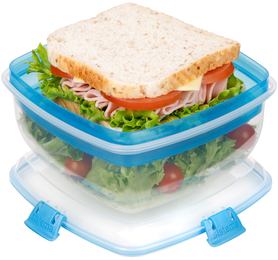 קופסת Salad to go של סיסטמה