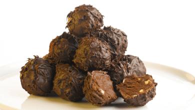 כדורי שוקולד מפנקים