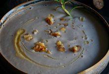 Photo of מרק תפוח אדמה, כרישה ואגוזים