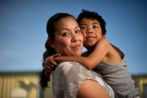 Inmate woman immigrant latina mom