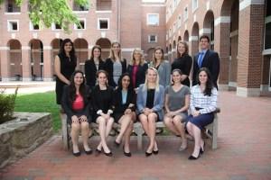 UNC Carolina Women in Business Leadership Team