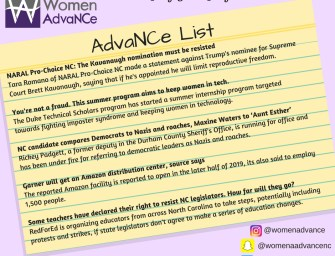 AdvaNCe List July 5 – 12