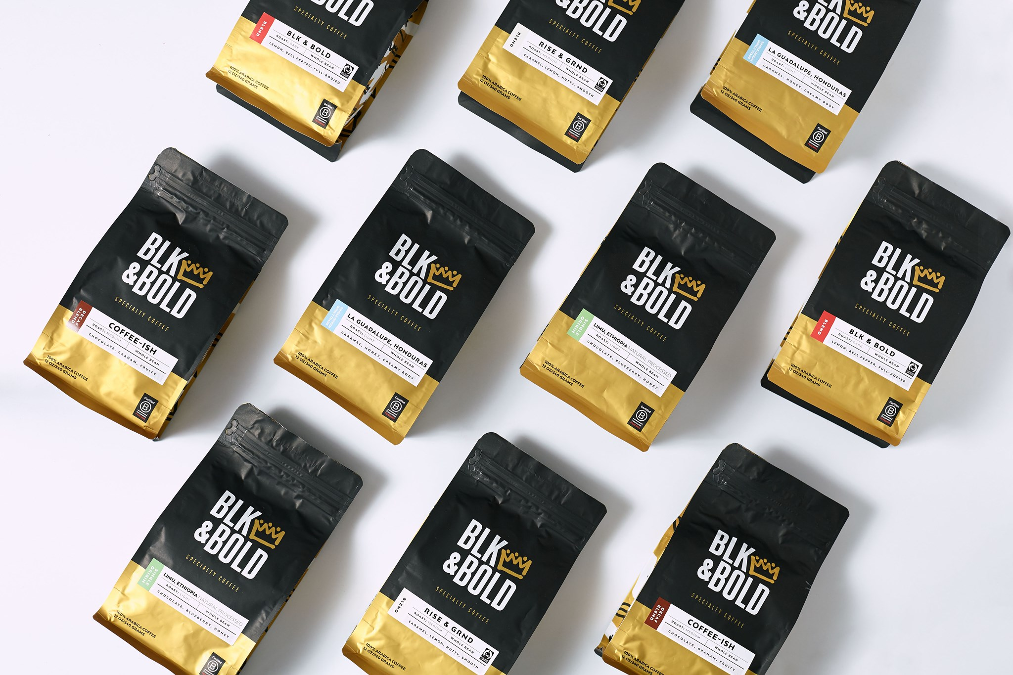 BLK and Bold (Coffee and Tea)