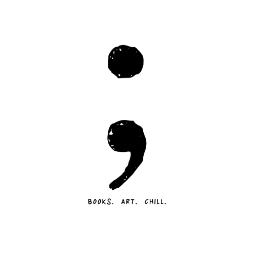 SEMICOLON BOOKSTORE & GALLERY (Bookstore and Art with social mission)