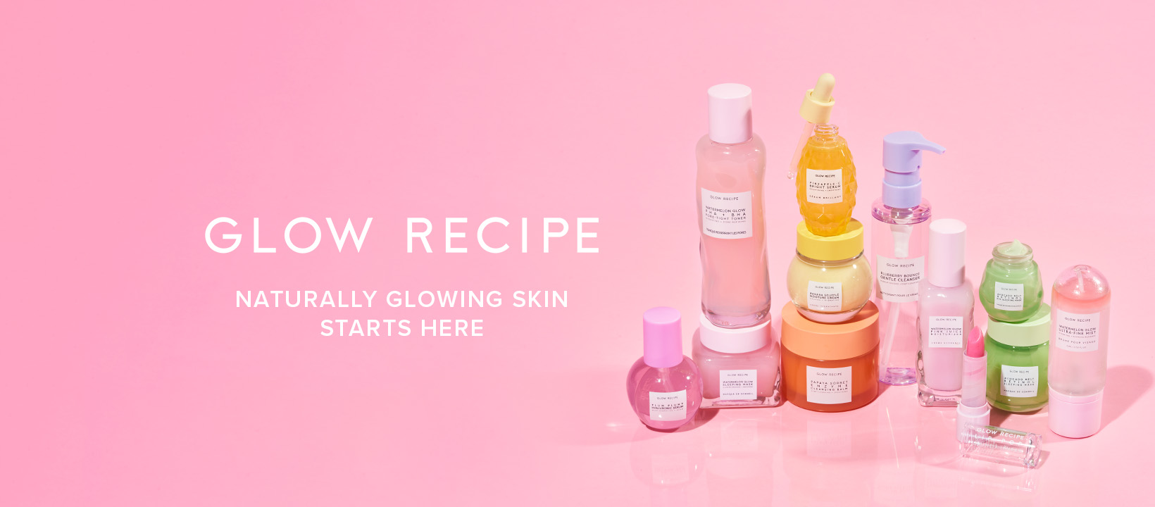 Glow Recipe – fruit-powered skin-care and self-care