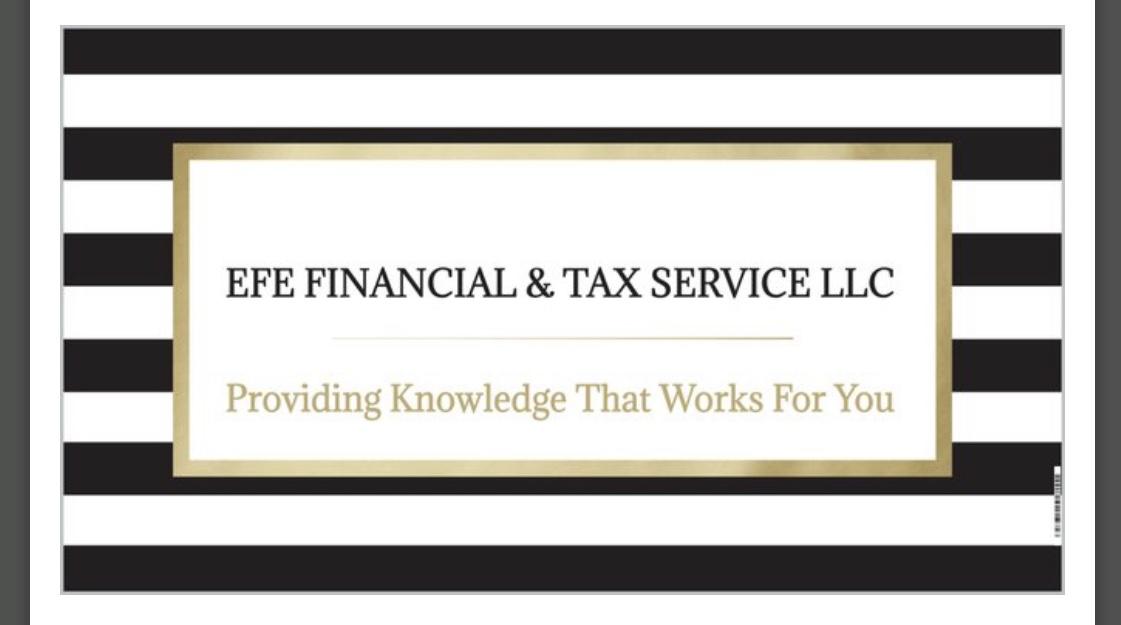 EFE FINANCIAL and TAX SERVICE LLC – Kalamazoo Michigan