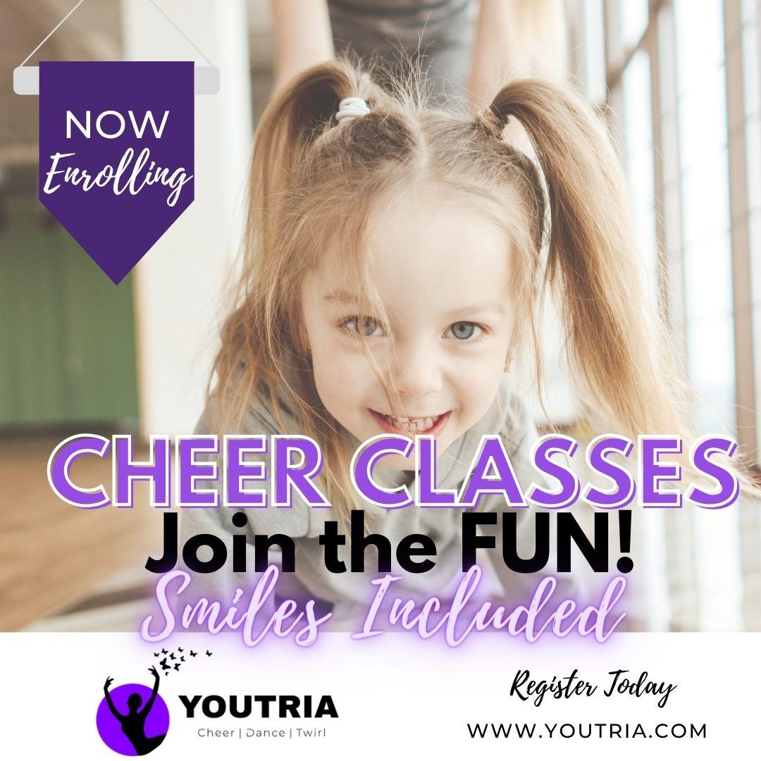 Youtria – Cheer, Dance and Baton Classes