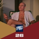 Picard in his robe on Risa