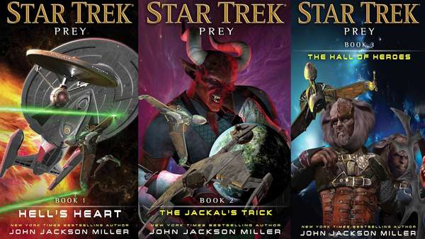 covers of 3 Prey novels