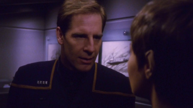 Archer confronts T'Pol