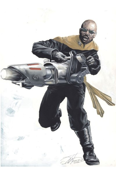 Mirror Geordi concept art
