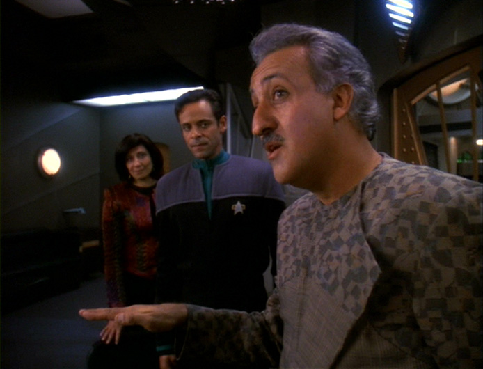 Nice Deep Space Nine: S05 E16: Dr Bashir, I Presume For Dr Bashir I Presume
