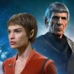 T'Pol and Spock