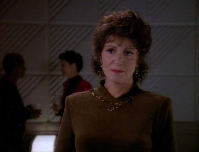 "Lwaxana in ""Dark Page"""