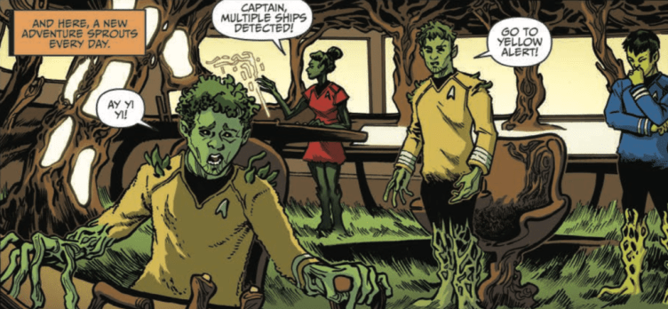 Botanical crew of the Enterprise